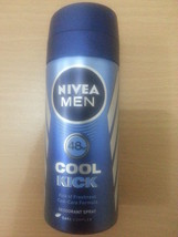 Nivea Men Deodorant Spray CoolKick 48hr Cool-care formula Kick of Freshn... - $12.58