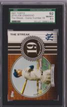2007 Topps JD19 Joe DiMaggio The Streak SGC 92 P486 - $19.28