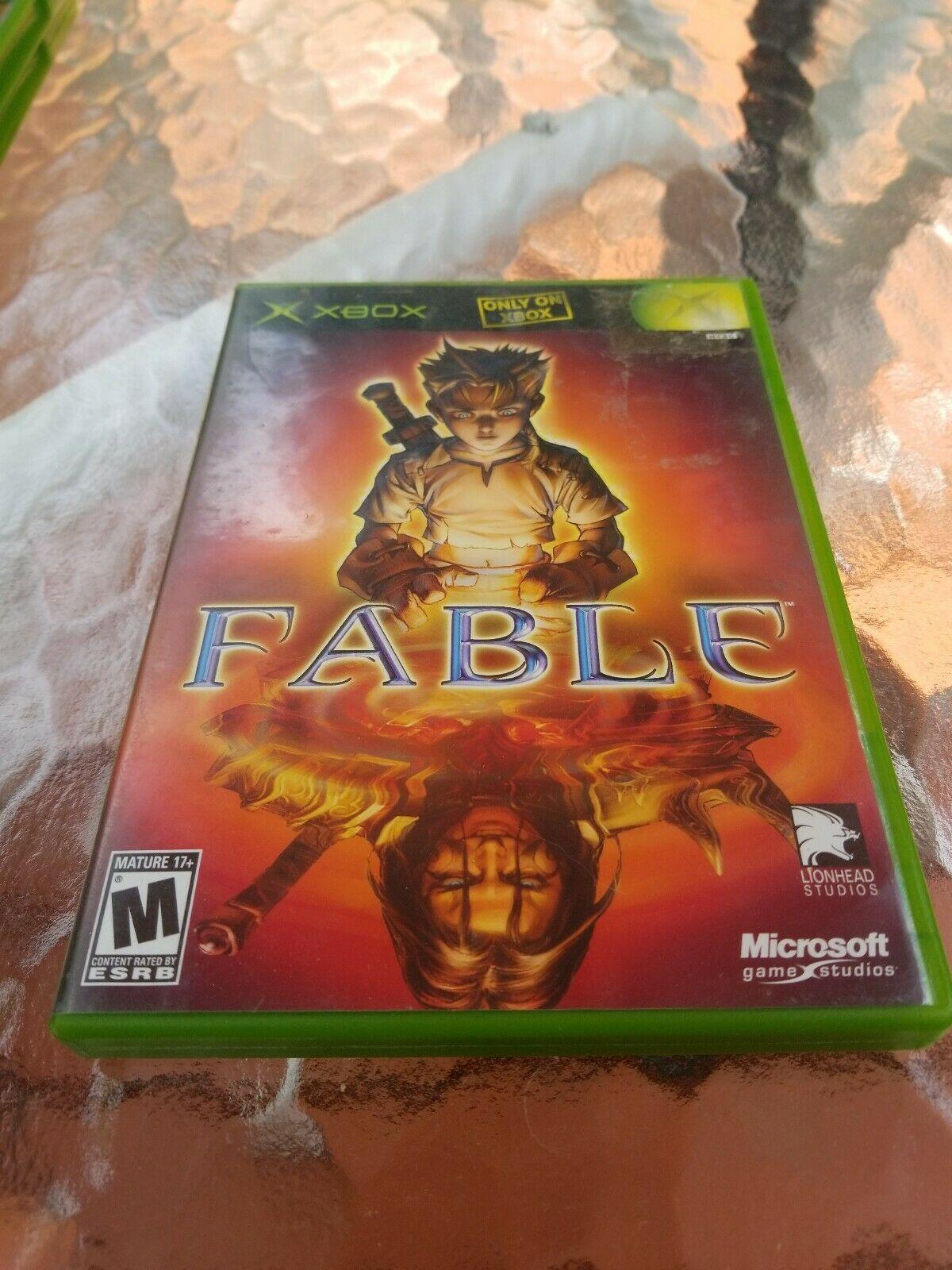 Fable (Microsoft Xbox, 2004) CIB
