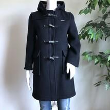 Gloverall Children's Unisex Peacoat Size 11 Years Black Duffle Wool Coat... - $65.99