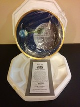 Star Wars Hamilton Space Vehicles Plate Collection Death Star w/Coa - $64.35
