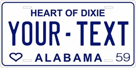 Alabama 1959 License Plate Personalized Custom Car Auto Bike Motorcycle ... - $10.99+