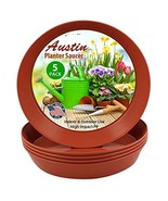 Austin Planter 7 inch (5.5 Inch Base) Case of 10 Plant Saucers - Terra C... - $15.19