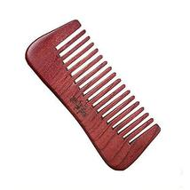 Retro Premium Quality Hair Care Comb Antistat Rosewood Curly Hair Comb - $16.77