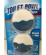 Automatic Toilet Bowl Cleaner Disinfecting Bleach and Blue Color Tablets... - $9.89