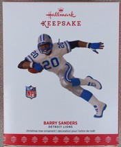 Hallmark Keepsake Ornament 2017 Barry Sanders Detroit Lions Ornament - $11.95
