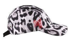 Neff Headwear White Leopard Print Strapback 5-Panel Baseball Hat Cap F13014 NW image 3