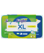 Swiffer XL Wet Mopping Cloth Pad Refill, Open Window Fresh Scent (12 Count) - $29.79