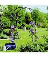 Garden Plant Trellis Metal Arch Backyard Outdoor Patio Futniture Yard Ro... - $98.88