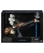 Star Wars Black Series 6-Inch Speeder Bike With Biker Scout - $38.95