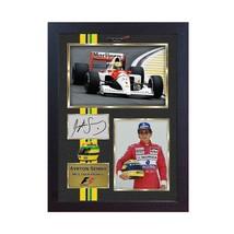 Ayrton Senna signed autograph McLaren-Honda F1 Formula 1 photo print Framed - $19.27