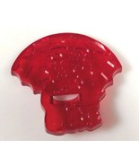 HRM Red plastic Kids Cookie Cutter rain rain go away boy girl nursery rhyme - $6.12