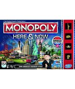 Monopoly Board Game Here and Now 2015 BuzzFeed gold tokens Hasbro - $27.77