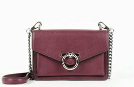 Rebecca Minkoff Jean Leather Crossbody Bag - Bordeaux (Retail price - $198) - $74.25