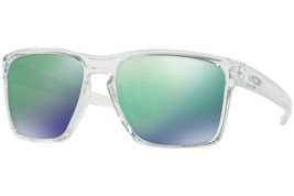 Oakley Sunglasses Sliver XL Clear w/Jade Iridium Lens OO9341-02 - $196.88