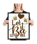 Let it bee let it bee fun16x 20 poster - £38.14 GBP