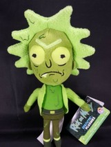 "Galactic Plushies Rick And Morty Toxic Rick Green Plush Figure Funco 10""... - $12.86"