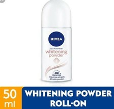 NIVEA Deodorant R/ON White Powder 50ml-Fairer, smoother and dryer - $15.83