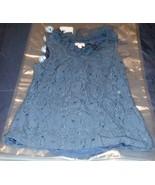 Merona Women Size Small Blue Sleeveless Knit Blouse - $12.86