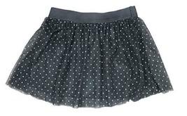 Epic Threads Little Girls Glitter Tulle Skirt w/ Elastic Waist – Black/G... - $15.15