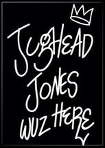 Riverdale TV Series Jughead Jones Wuz Here Refrigerator Magnet Archie NE... - $3.99