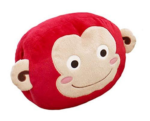 Nooritoys Red Monkey Character Nap Cushion Plush Pillow