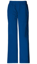 Cherokee Mid Rise Pull-On Pant Cargo Pant Galaxy Blue - $8.99