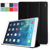 Apple iPad Air 1 (5th Gen iPad)-Poetic Slimline Stand Cover Case -Black - $26.23 CAD