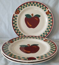Tabletops Unlimited A is for Apple Dinner Plate set of 3 - $34.54