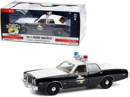 "1977 Dodge Monaco ""Texas Highway Patrol"" Police Car Black and White ""Hot Pursui - $41.78"