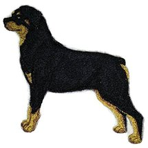 Amazing Custom Dog Portraits[Rottweiler] Embroidered Iron On/Sew patch [... - $9.89