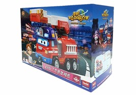 Super Wings Sparky Rocky Rescue Headquarters Set Fire Engine Vehicle Truck Toy image 2