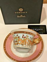 Versace by Rosenthal Cup & saucer 4 low Le Jardin de Versace 0,22 l / 6.... - $210.00