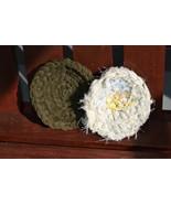 "Handmade Scrubbies (Dishcloth & Potholders) Gray/Black Multi 1/2"" RRM103 - $2.69"