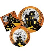 Haunted House Halloween Party Supply Kit - Haunted Hill Design - Bundle ... - £16.94 GBP