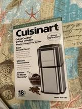 Cuisinart Stainless Steel Coffee Grinder - $28.70