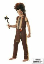 California Costume Indian Warrior Child Costume Asst Sizes #00215 Brand New - $19.99