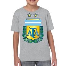 SOCCER CONMEBOL Argentina Logo 0296 Kids T-Shirt - $14.99