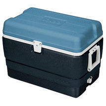 Maxcold Ice Chest, Ice Blue & White, 50-Qts. - $64.34