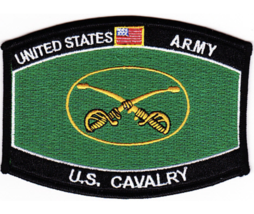 "4.5"" Army Mos Us Calvary Embroidered Patch - $23.74"