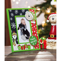 Kitty Cat Holiday 3-D Wooden Photo Frame - $14.95