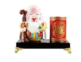 PANDA SUPERSTORE Beijing Opera Facial Masks Pen Container Furnishing Article Hom