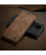 For Samsung Galaxy S20 Ultra S20 + S20 Leather Wallet Flip Phone Case Cover - $64.71