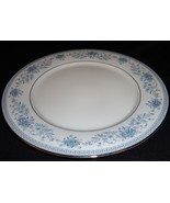 Noritake Dinner Plate 10 1/2in Contemporary 2482 Blue Hill Vintage China - $18.68
