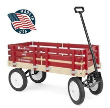 BERLIN FLYER CLASSIC WAGON - Amish Handmade Cart in 8 Bright Colors AMIS... - $221.92