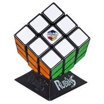 Hasbro Gaming Rubik's 3X3 Cube Puzzle Game Classic Colors 789099023847 - $6.80