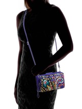 Vera Bradley Iconic Deluxe All Together Crossbody Bag, Romantic Paisley image 2