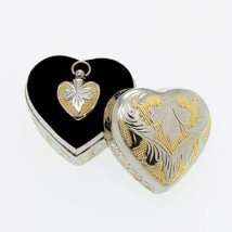 Heart Pendant within a Keepsake Case for Cremation Ashes - $49.99