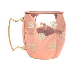 Rastogi Handicrafts Hand Made Pure Copper Moscow Mule Mug / Cup 16 Ounce... - $14.75