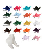White Bobby Socks & Sheer Chiffon Scarf - 18 Colors - 50s Retro Accessor... - $14.99